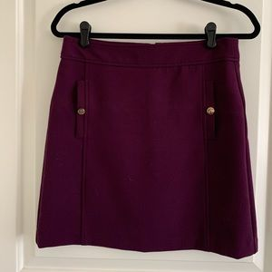 Purple Loft skirt